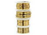 Wire Kit Includes Faux-Gold, Vintage Bronze, Brown, and Non-Tarnish Silver in 18, 20, 24, 28 gauge