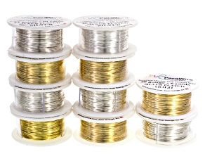 Craft Wire 112 Yards Silver And Gold Tone