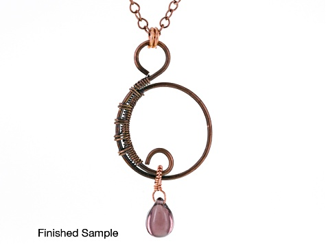 Natural Copper And Silver Over Copper Craft Wire Kit