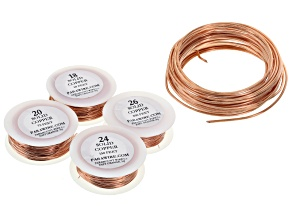 Bare Copper Round Dead Soft Wire Kit