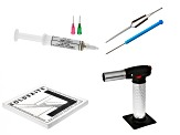 Soldering Basics Supply Kit Includes: Torch, Tweezers, Pick, Board & Paste