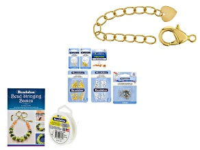 Essential Stringing Supplies with Large 15mm Clasp
