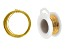 Jewelry Making 101: Simple Wire Hoops Supply Kit in Gold Tone