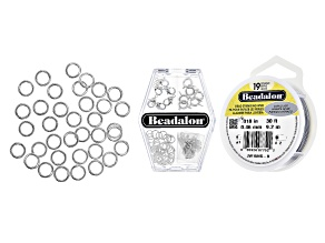 Jewelry Making 101: Necklace Essentials Supply Kit in Silver Tone