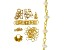 I Made This: Beaded Chain Necklace Supply Kit with Cultured Freshwater Pearl in Gold Tone