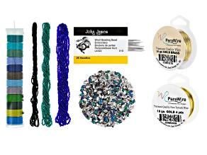 I Made This: Teardrop Tassel Earrings Supply Kit