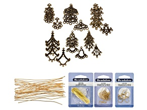 I Made This: Chandelier Drop Earring Supply Kit
