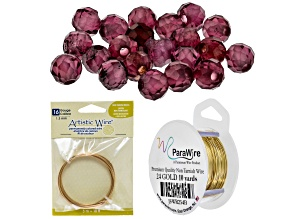 Jewelry Making 101: Wire Heart Ring Supply and Project Kit