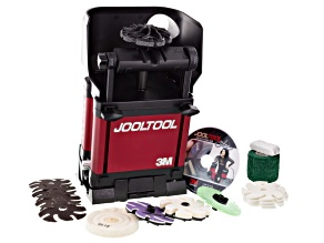 Jooltool™ Polishing Kit W/ 3m Sharpening Abrasives,Tool Rest For Drills,Chisels&Lawn Mower Blades