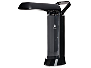 Ottlite ™ 13 Watt Folding Task Lamp--Vibrant Black 5.8 X 4.5 X 12 inches.  Comes With Bulb