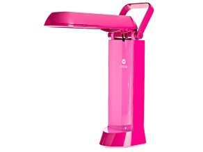 Ottlite ™ 13 Watt Folding Task Lamp--Vibrant Pink 5.8 X 4.5 X 12 inches  Comes With Bulb