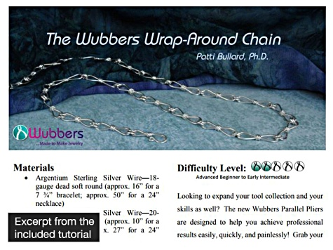Wubbers™ Parallel Pliers Round With Jaws 3mm & 3mm