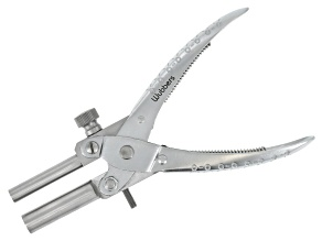 Wubbers™ Parallel Pliers Round With Jaws 11mm & 8mm