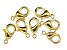 Vintaj Lobster Style Clasp in 10k Gold Over Brass Appx 12mm Appx 7 Pieces