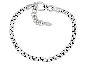 Sterling Silver Unisex Chain Bracelet