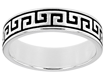 Picture of Sterling Silver Men's Band Ring