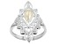 """White Cultured Freshwater Pearl """"June Birthstone"""" Sterling Silver Ring"""