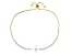 White Cubic Zirconia 18k Yellow Gold Over Sterling Silver Adjustable Bracelet 3.32ctw