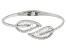 White Cubic Zirconia Rhodium Over Sterling Silver Bracelet 6.57ctw