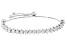 White Cubic Zirconia Rhodium Over Silver Bracelet 7.10ctw