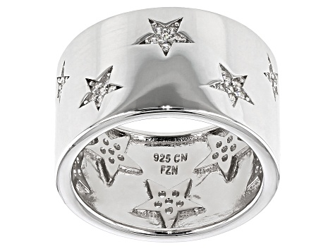925 Sterling Silver Star Band Ring Star Ring Open Star Band Ring Twinkle Star Ring Star Ring Silver Star Moon Heart Ring Free Shipping