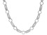 White Cubic Zirconia Rhodium Over Sterling Silver Necklace 8.65ctw