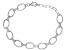 White Cubic Zirconia Rhodium Over Sterling Silver Bracelet 2.70ctw