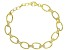 White Cubic Zirconia 18k Yellow Gold Over Sterling Silver Bracelet 2.70ctw