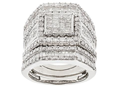 Jtv Diamond Rings >> Diamond 10k White Gold Ring 3 25ctw