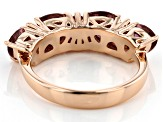Blush Cubic Zirconia 18k Rose Gold Over Sterling Silver Ring 3.57ctw