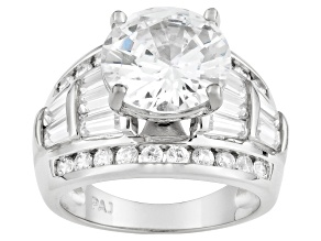 Womens Engagement Style Ring Bella Luce Cubic Zirconia 10ctw Silver