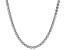 White Cubic Zirconia Rhodium Over Sterling Silver Tennis Necklace 57.95ctw
