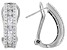 White Cubic Zirconia Rhodium Over Sterling Silver Earrings 2.96ctw