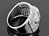 Cubic Zirconia Silver Ring 2.30ctw