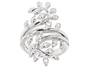 Cubic Zirconia Silver Ring .40ctw (.22ctw DEW)