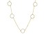 White Cubic Zirconia 18k Yg Over Sterling Silver Necklace 1.43ctw