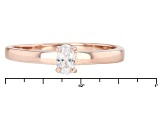 White Cubic Zirconia 18k Rg And Yg Over Sterling Silver Rings 1.94ctw