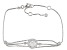 Cubic Zirconia Sterling Silver Bracelet 3.22ctw