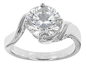 Cubic Zirconia Silver Ring 4.59ct (2.75ct DEW)