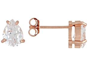 Bella Luce 2.75ctw Cubic Zirconia 18kt Rose Gold Over Silver   Stud Earrings