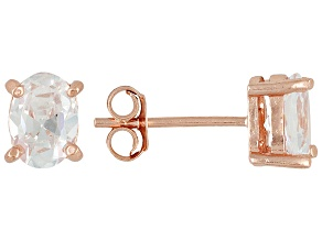Bella Luce 2.88ctw Cubic Zirconia 18kt Rose Gold Over Silver   Stud Earrings