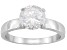 Bella Luce® 3.60ct Round Rhodium Over Sterling Silver Solitaire Ring