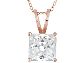 Bella Luce 9ctw Cubic Zirconia 18kt Rose Gold Over Silver   Necklace