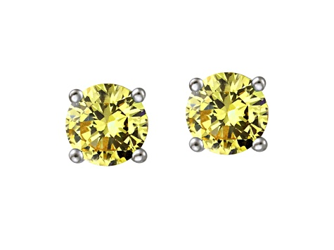 Bella Luce ® .90ctw Rhodium Over Sterling Silver Earrings