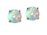 Bella Luce ® 4.35ctw Lab Created Opal Rhodium Over Sterling Silver Earrings
