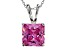Bella Luce ® 7.00ct Rhodium Over Sterling Silver Pendant With 18 inch Chain