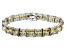 Bella Luce ® 92.00ctw Champagne Diamond Simulant Sterling Silver Bracelet 7.25
