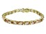 Bella Luce ® 28.8ctw Champagne Diamond Simulant 18k Yellow Gold Over Sterling Silver Bracelet