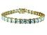 Bella Luce ® 27.35ctw White Diamond Simulant 18k Yellow Gold Over Sterling Silver Bracelet