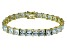 Bella Luce ® 49.90ctw White Diamond Simulant 18k Yellow Gold Over Sterling Silver Bracelet